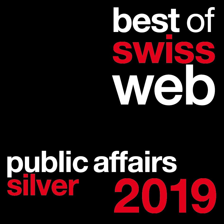 Prix du Best of Swiss Web 2019